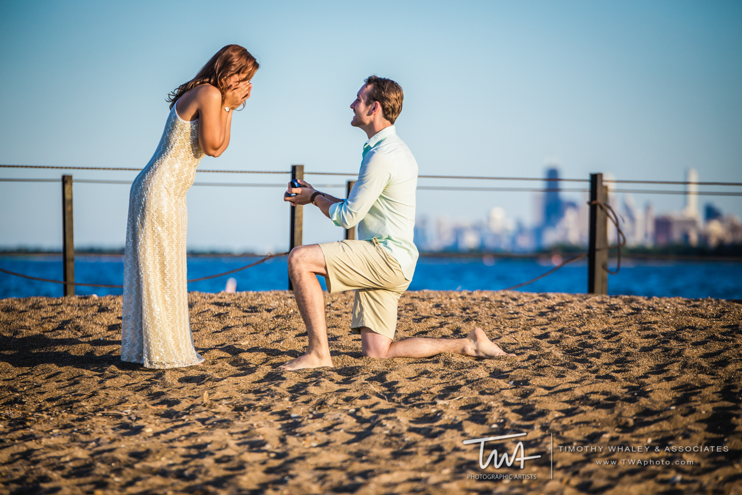Maggie and Marcin's DePaul Engagement Session