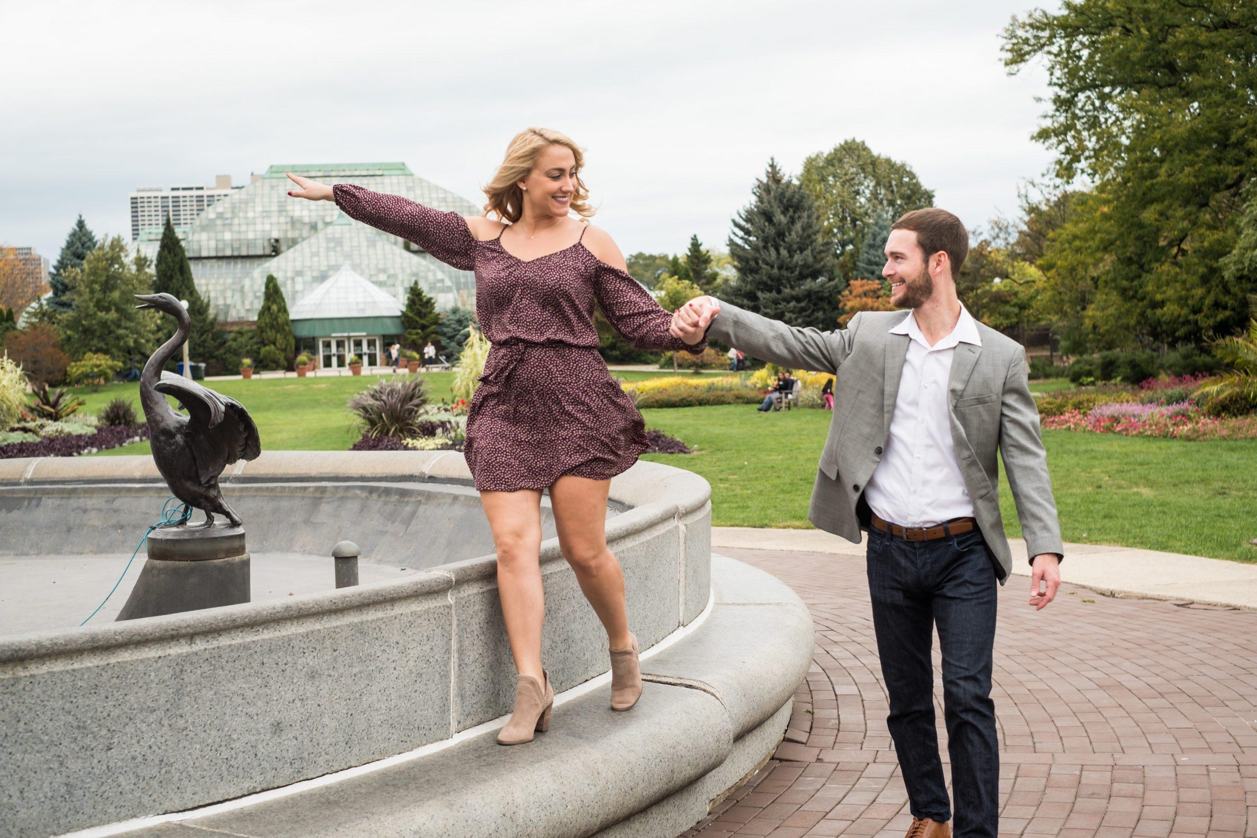 Kristin + Robert's Lincoln Park Engagement