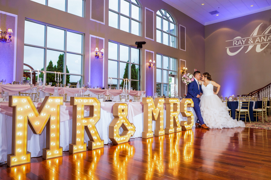 Chicago Wedding Photographer | Mr. & Mrs. Light Marquee