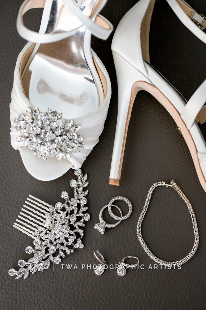 detail photo of bride's accessories