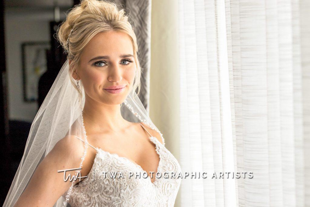 solo portrait of bride