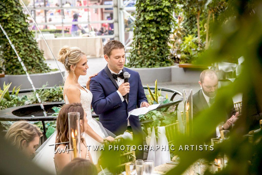 groom giving speech