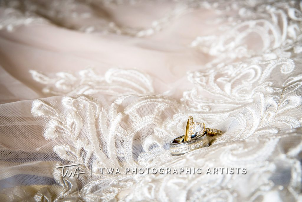 Detail Photo of Rings with Veil