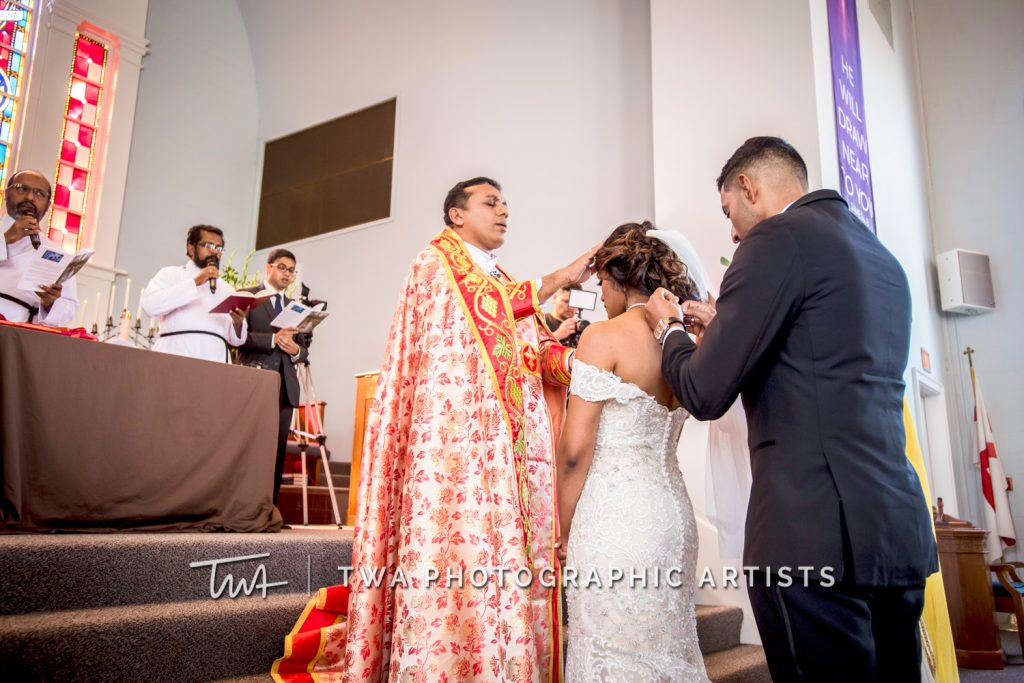 Priest Blessing the Bride