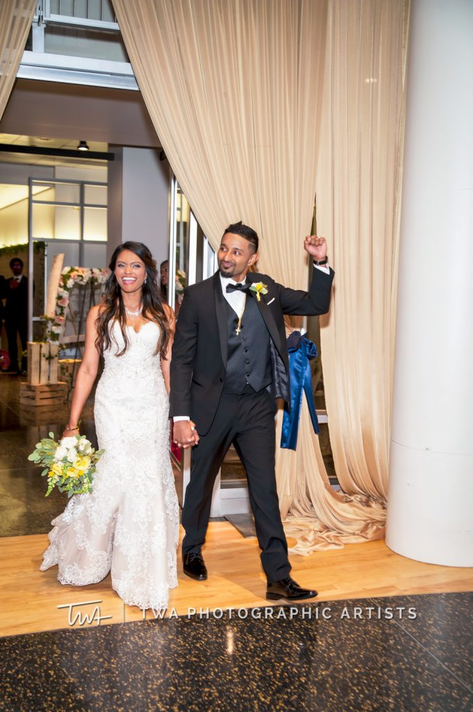 Couple Entering Reception