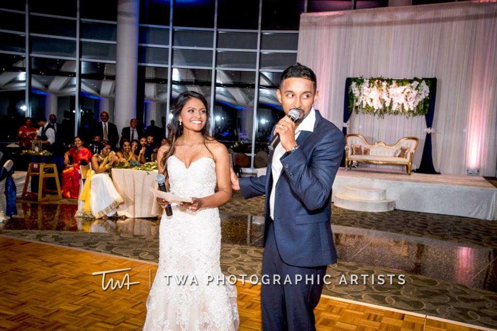 Couple Giving Speech