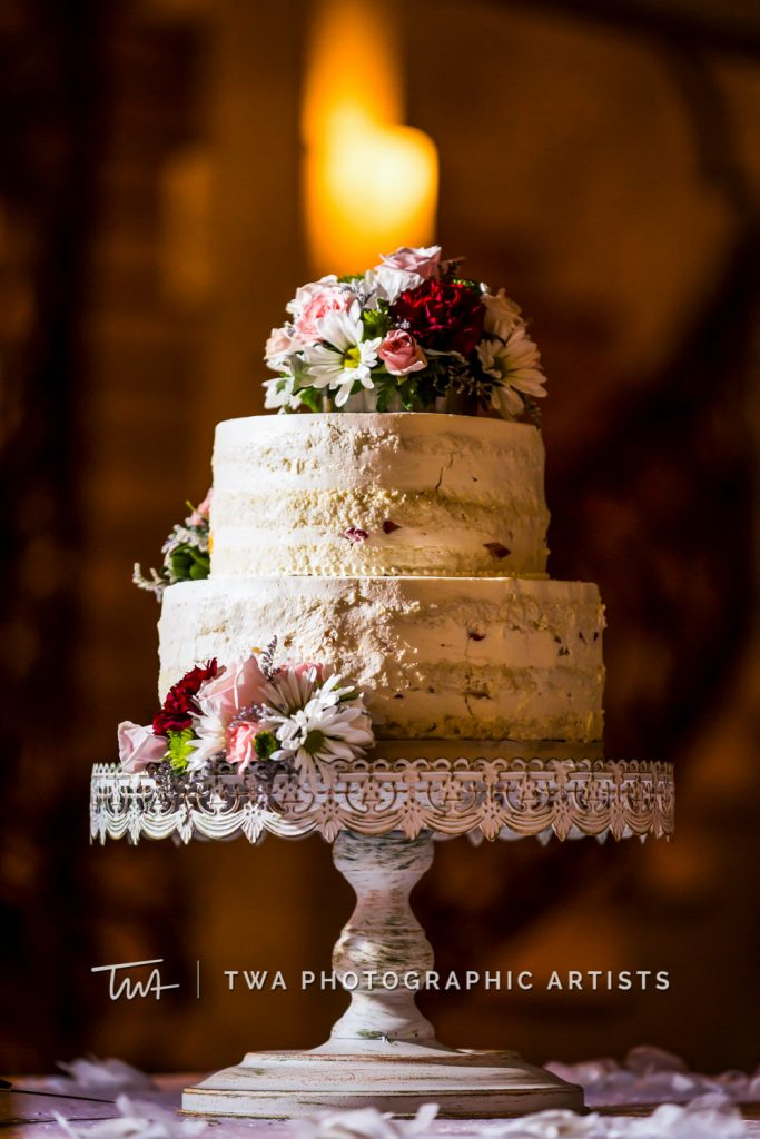 Detail photo of wedding cake