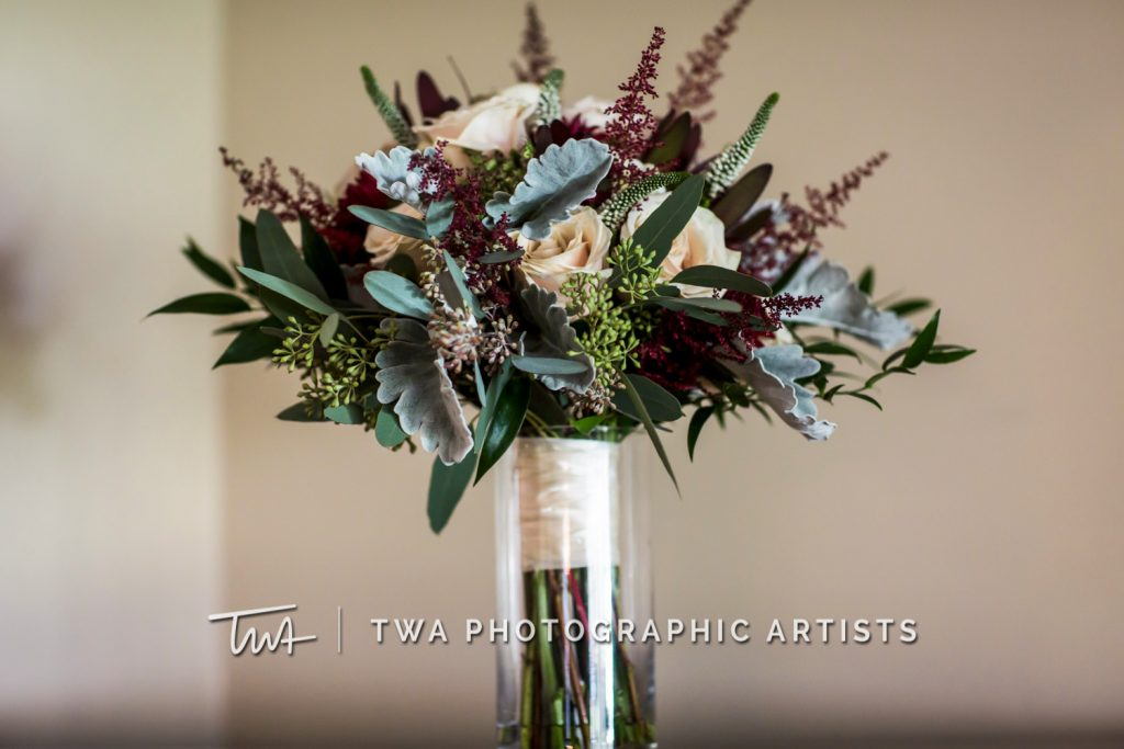 Detail photo of wedding bouquet