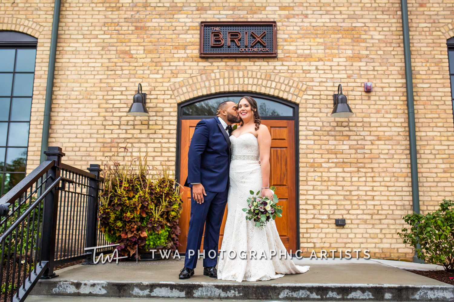 Weddings at The BRIX on the Fox | TWA Photographic Artists | Chicago Wedding Photographers