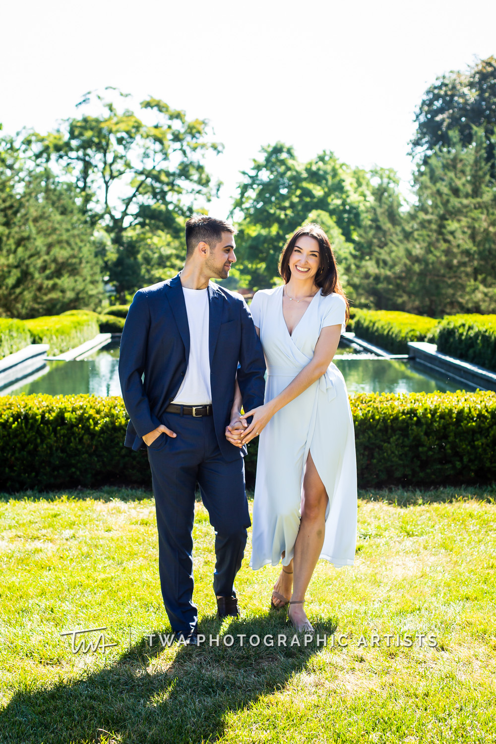 Chicago Wedding Photographers | Patrice & Ted's Cantigny Park Engagement Session | TWA Photographic Artists