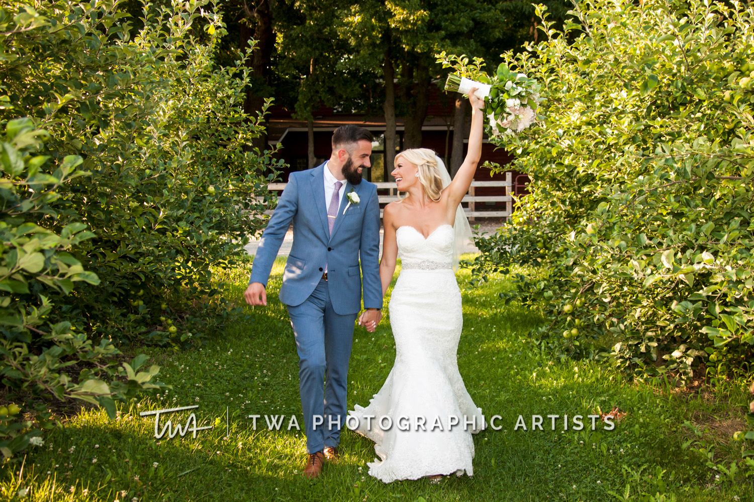 Weddings at County Line Orchard | TWA Photographic Artists | Chicago Wedding Photographers