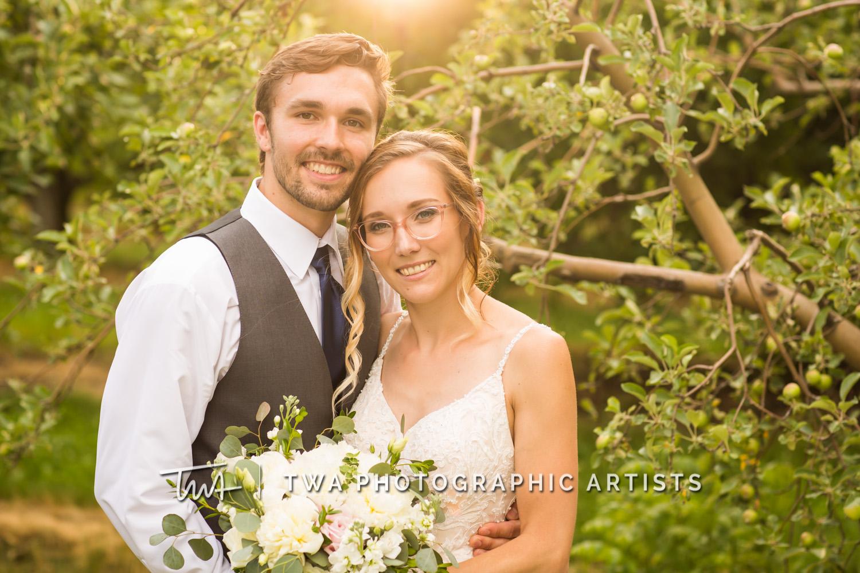 Chicago Wedding Photographers | Kayla & Gavin's County Line Orchard Wedding | TWA Photographic Artists