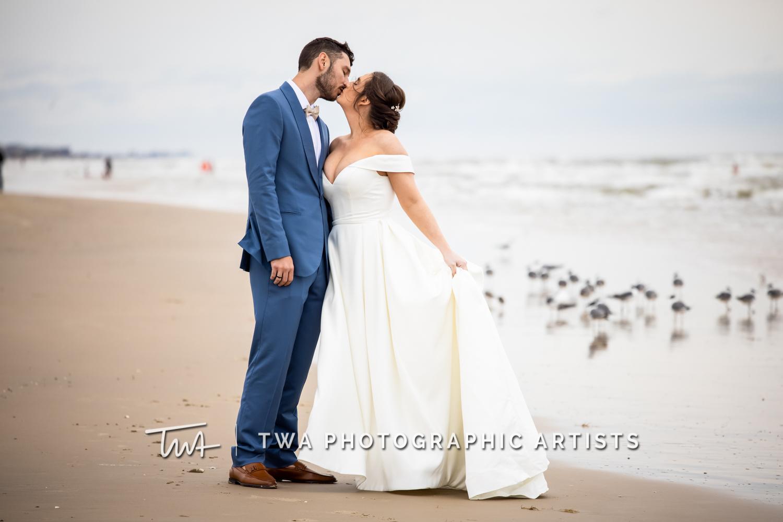 Kaitlan & Cody's Galveston Beach Wedding | TWA Photographic Artists | Houston Wedding Photographers