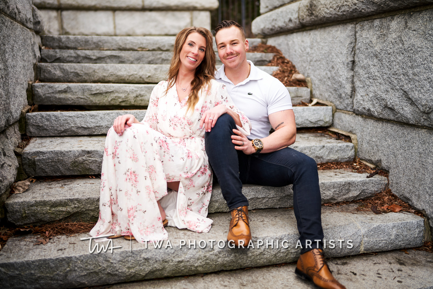 Becca & Ryan's Lincoln Park Engagement Session | TWA Photographic Artists | Chicago Wedding Photographers