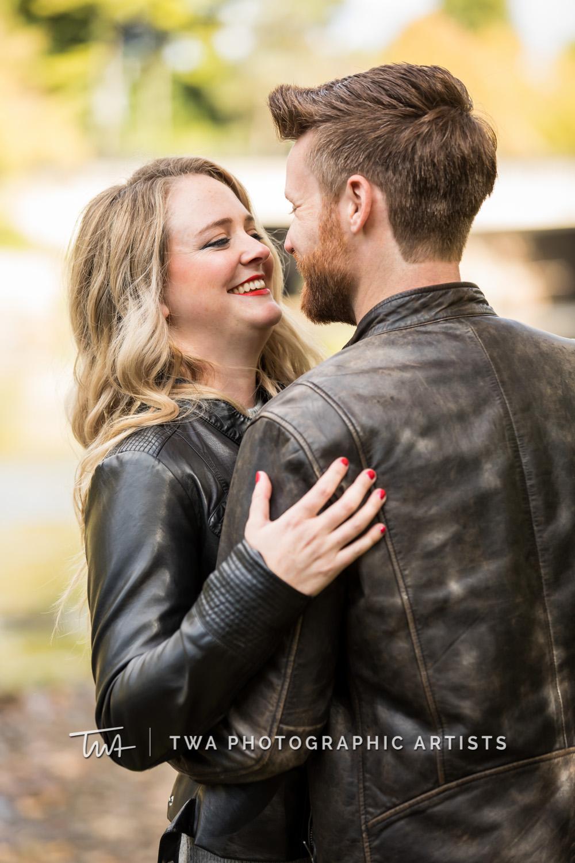 Abby & Alex's Naperville Riverwalk Engagement Session | TWA Photographic Artists | Chicago Wedding Photographers