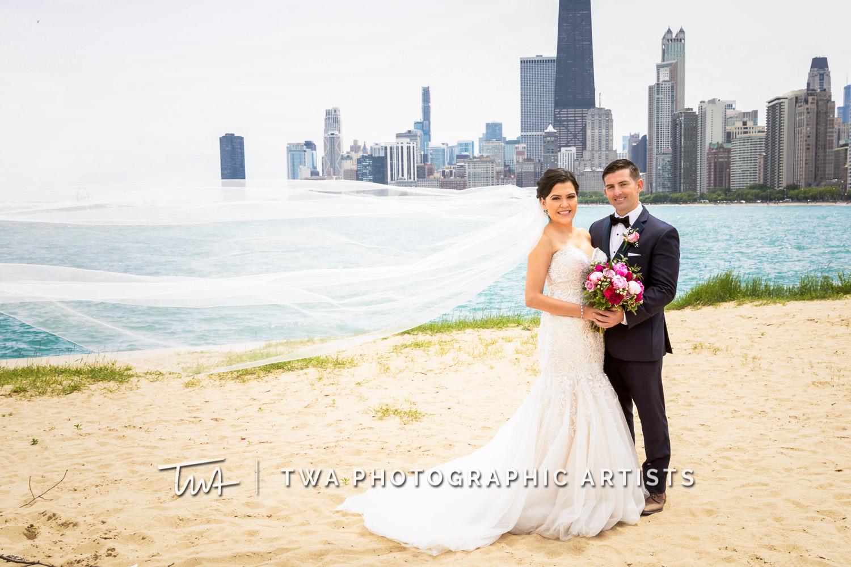 Chicago Wedding Photographers | Erika & Nathan's Chicago Pinstripes Wedding | TWA Photographic Artists