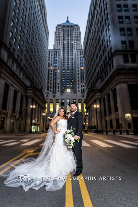 Jazmin & David's Winter Wedding   TWA Photographic Artists   Chicago Wedding Photographers