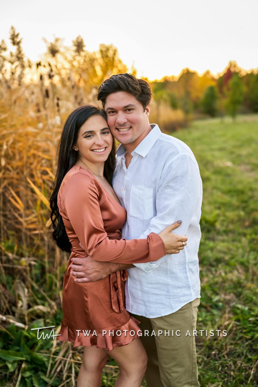Nicoletta & Stephen's Riverview Farmstead Engagement Session | TWA Photographic Artists | Chicago Wedding Photographers