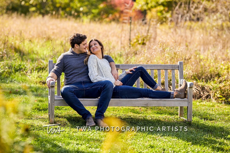 Katrina & Lucas' Fall Engagement Session | TWA Photographic Artists | Chicago Wedding Photographers