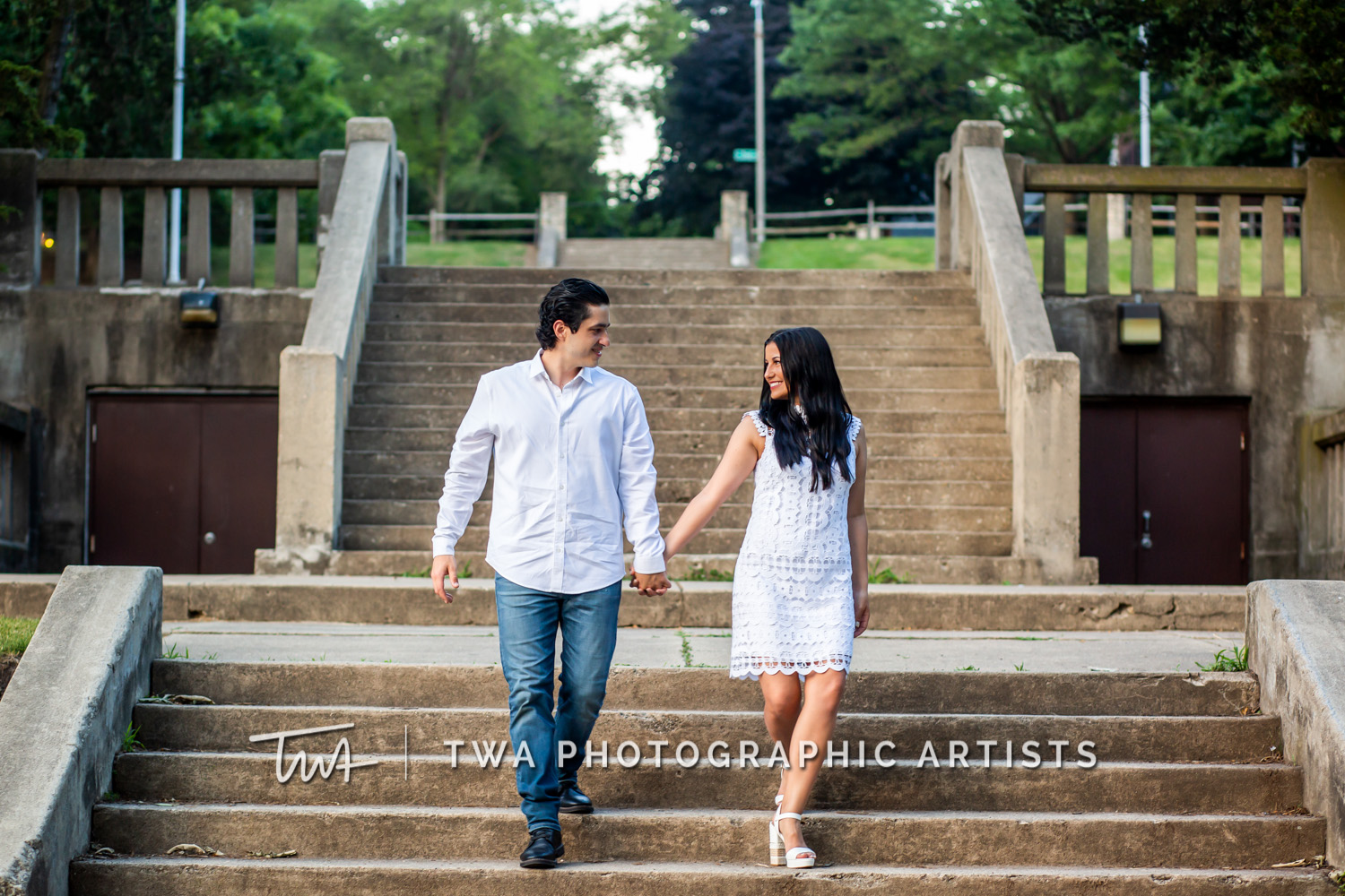 Chicago Wedding Photographers | Alyssa & Alex's St. Charles Engagement Session | TWA Photographic Artists