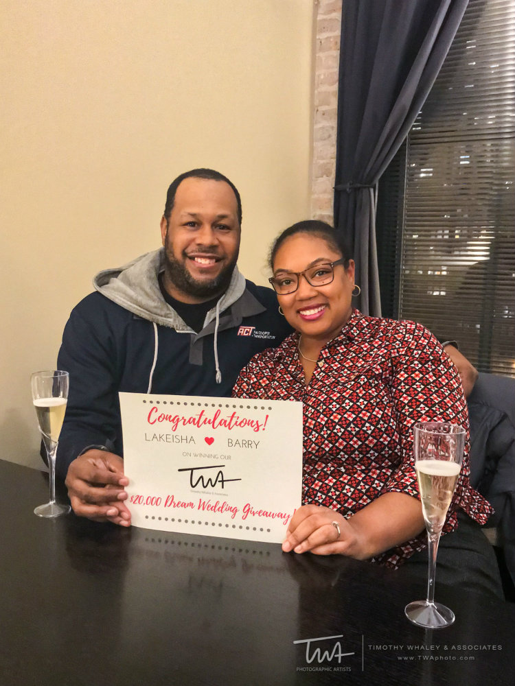 $20,000 Ultimate Wedding Giveaway…We Have A Winner!