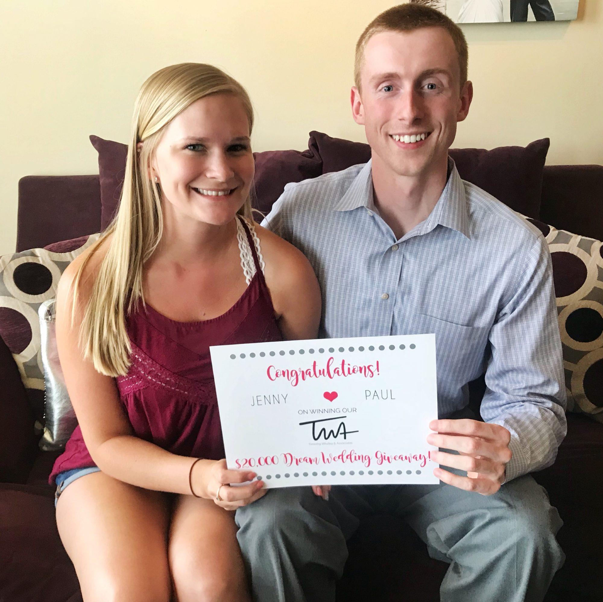 "TWA's  $20,000 ""Dream Wedding Giveaway"" Winners!"