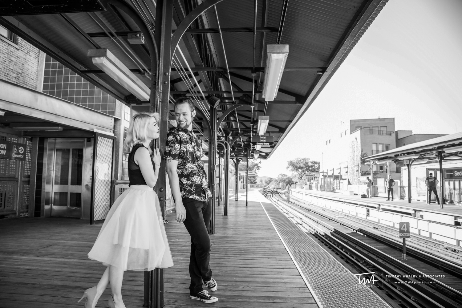 Jennifer + AJ's Chicago Engagement Session
