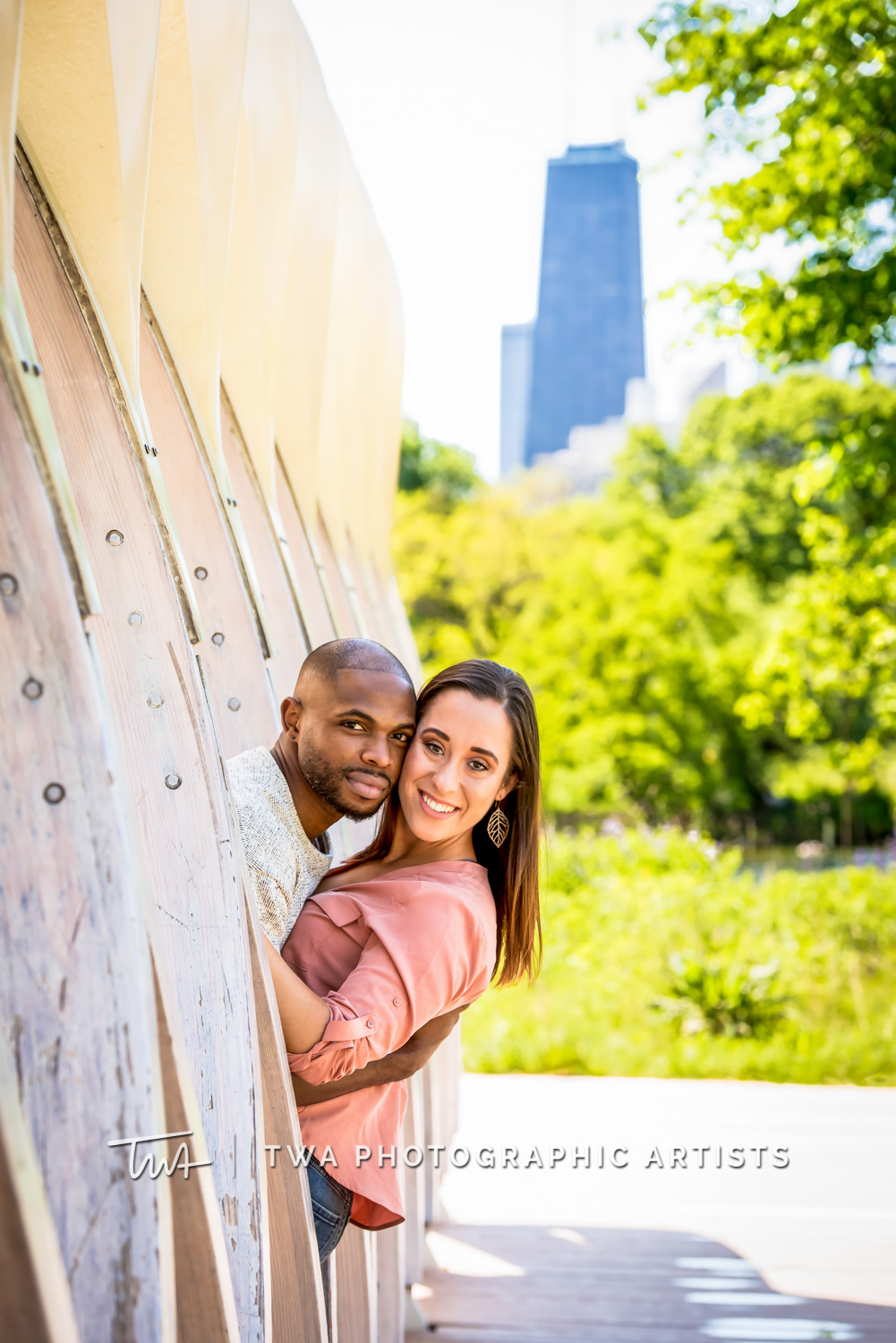 Emily & Ricky's Lincoln Park Engagement Session