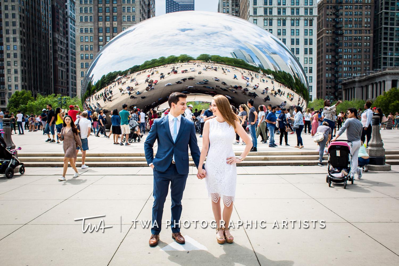 Chicago Wedding Photographer | Millennium Park Blythe Cleary MJ 004