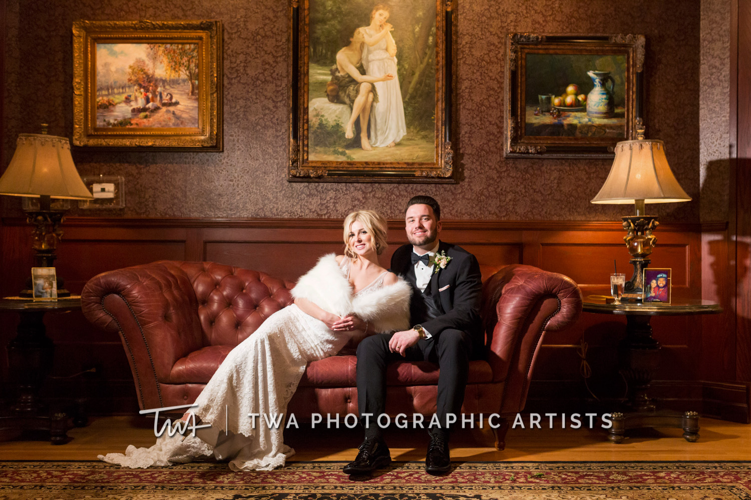 Katie and Mike's Haley Mansion Wedding