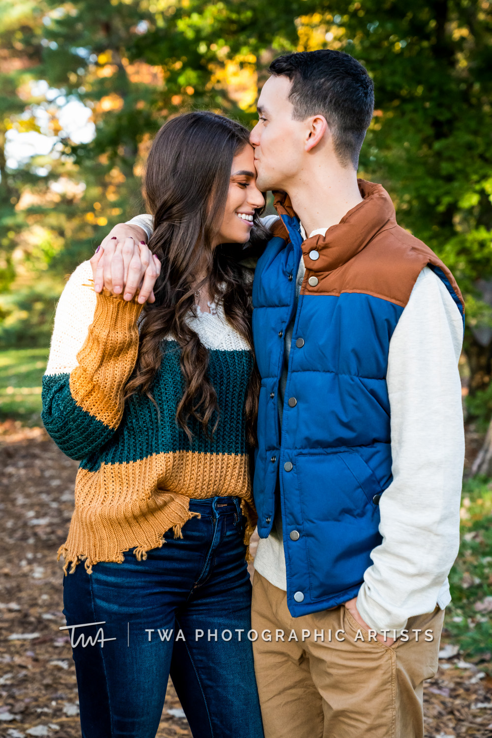 Rachel & Ryan's Morton Arboretum Engagement Session