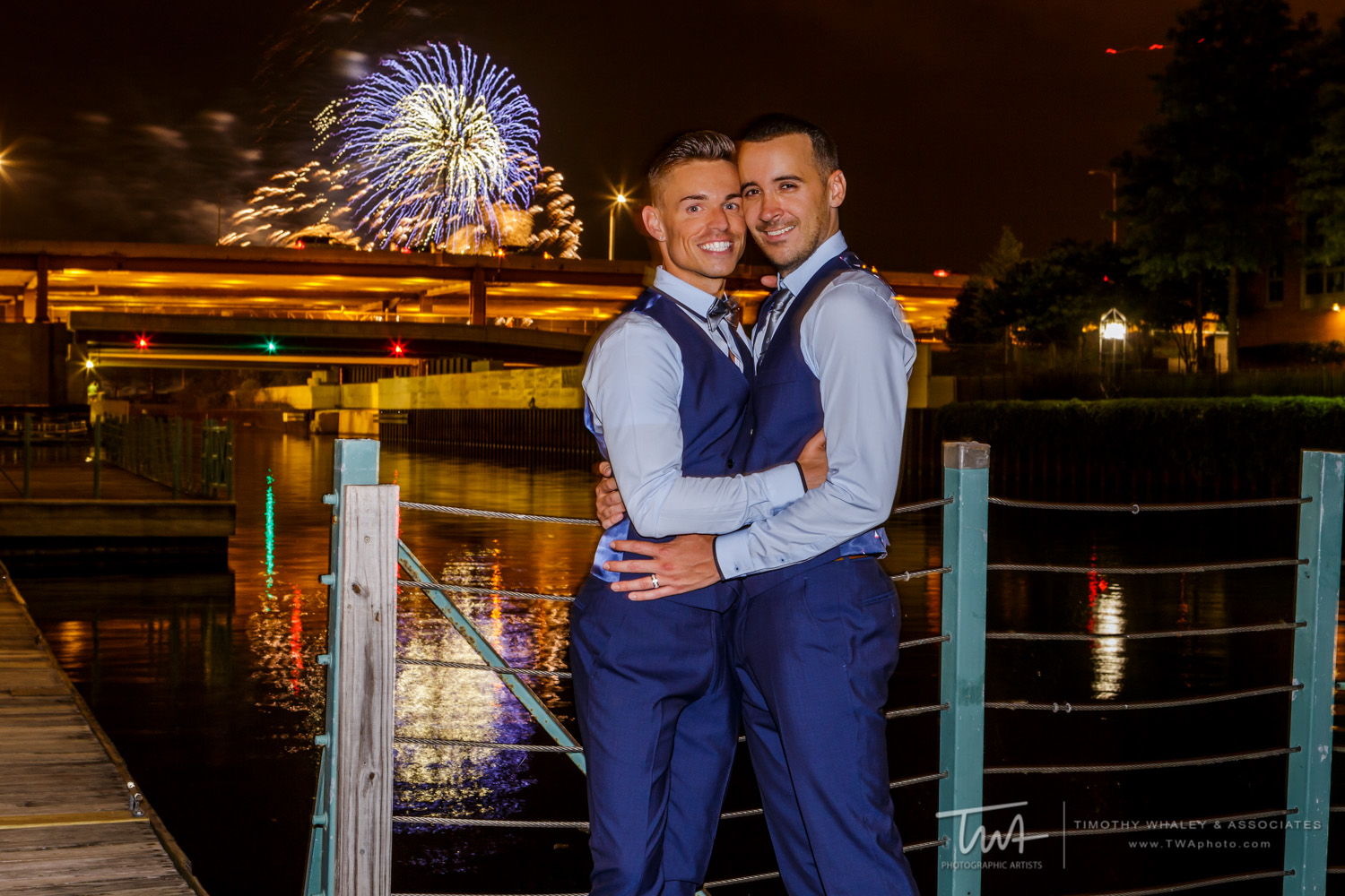 Patrick and Anthony's Riverboat Wedding