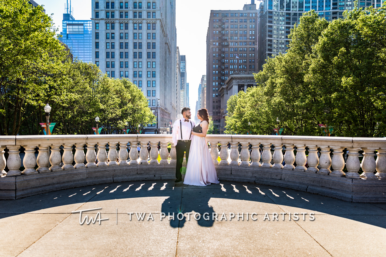 Ruth & Jorge's Millennium Park Engagement Session