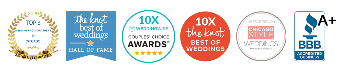 Wedding Photographer Chicago | Awards 2020