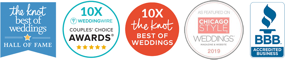 Chicago Wedding Photography Giving Back Awards