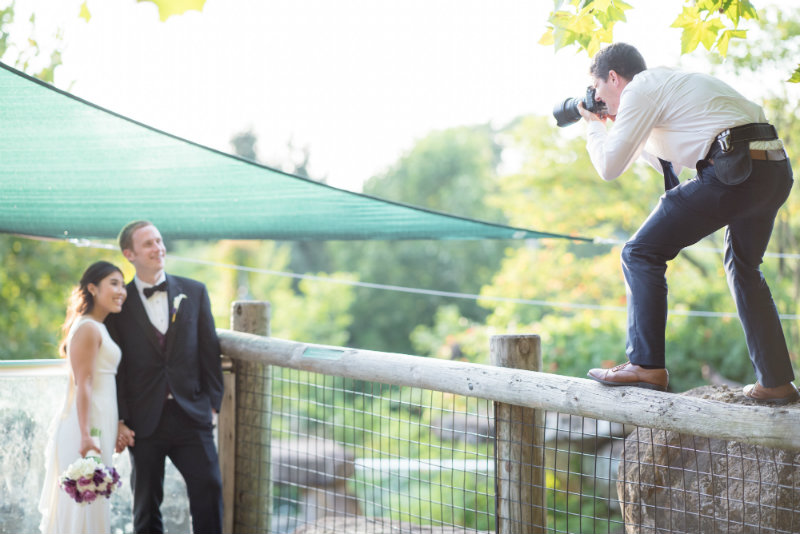 Chicago Wedding Photography | Wedding Photographer on Fence